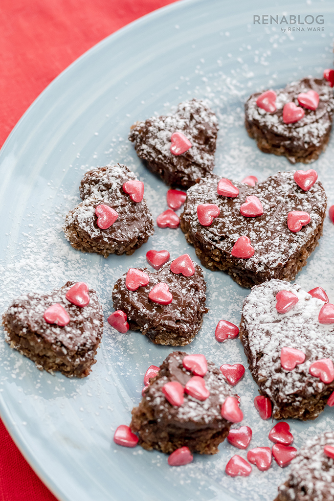 Recipes for sharing on Valentine's Day