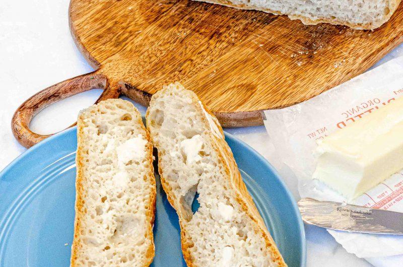 Pan horneado en casa